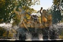 Zámek Český Krumlov - Kaskádová fontána vznikla po roce 1750 podle návrhů Andrease Altomonta, foto: Archiv Vydavatelství MCU s.r.o.