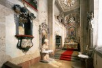 Český Krumlov Chateau - The interior of the Castle Chapel dedicated to St. George, photo by: Archiv Vydavatelství MCU s.r.o.