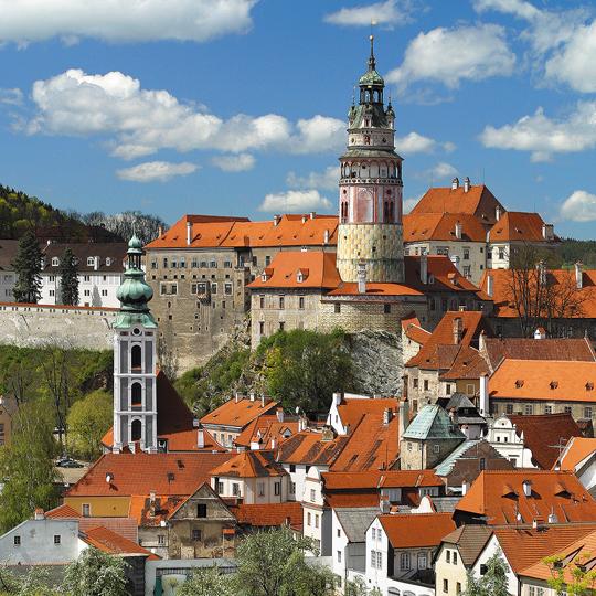Hrad a zámek Č. Krumlov, zdroj: Libor Sváček archiv Vydavatelství MCU