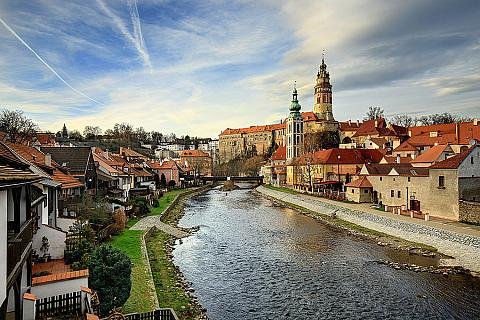 Český Krumlov – unique preserved historic heart and an extensive castle and chateau complex, has been listed with UNESCO since 1992, source: Libor Sváček, Vydavatelství MCU archive