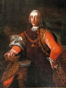 Zámek Český Krumlov - Josef Adam ze Schwarzenbergu, foto: Archiv Vydavatelství MCU s.r.o.