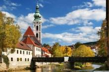 Český Krumlov - Lazebnický-(Bader-) Brücke, Foto: Archiv Vydavatelství MCU s.r.o.