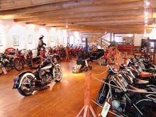 Museum historických motocyklů Český Krumlov, Zdroj: www.krumlovskymlyn.cz