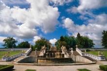 Hrad a zámek Český Krumlov - Kaskádová fontána vznikla po roce 1750 podle návrhů Andrease Altomonta, foto: Archiv Vydavatelství MCU s.r.o.