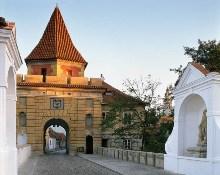 Český Krumlov - Das Budweiser Tor aus der Renaissance, Foto: Archiv Vydavatelství MCU s.r.o.