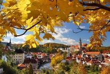 Český Krumlov - Das historische Stadtzentrum ist eins der meistbesuchten Tourismusziele in der Tschechischen Republik., Foto: Archiv Vydavatelství MCU s.r.o.