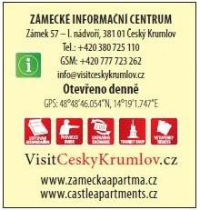 Zámecké informační centrum Český Krumlov, Unios Tourist Service