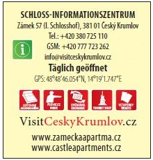 Schloss Informationszentrum Český Krumlov, Unios Tourist Service