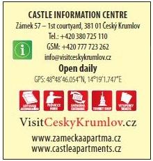 Castle Information Centre Český Krumlov, Unios Tourist Service