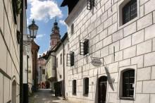 Český Krumlov - Ulička Nové Město ve čtvrti Latrán, foto: Archiv Vydavatelství MCU s.r.o.