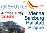 CESKY KRUMLOV SHUTTLE BUS, Source: CK SHUTTLE