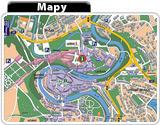 Český Krumlov mapy CZ, Zdroj: MCU