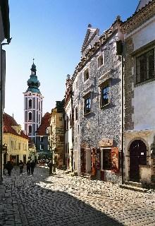 Český Krumlov - Domy na Latránu, foto: Archiv Vydavatelství MCU s.r.o.
