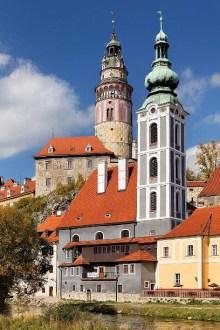 Český Krumlov - Bývalý kostel sv. Jošta, foto: Archiv Vydavatelství MCU s.r.o.
