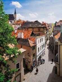 Český Krumlov - Radniční ulice, foto: Archiv Vydavatelství MCU s.r.o.