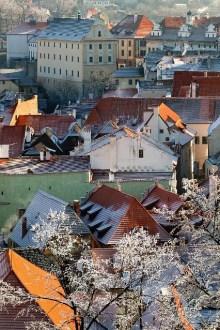 Český Krumlov - Dächer in der Umgebung der Soukenická und der Panská-Straße, Foto: Archiv Vydavatelství MCU s.r.o.