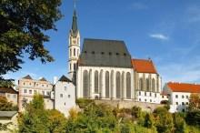 Český Krumlov - Kostel sv. Víta byl vysvěcen roku 1439, foto: Archiv Vydavatelství MCU s.r.o.