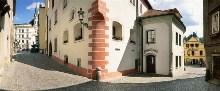 Český Krumlov - Kájovská ulice, foto: Archiv Vydavatelství MCU s.r.o.