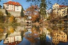 Český Krumlov - Zákoutí pod hornobránským mostem, foto: Archiv Vydavatelství MCU s.r.o.
