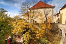 Český Krumlov - Východní vstup do města střežila v těchto místech Horní brána, foto: Archiv Vydavatelství MCU s.r.o.