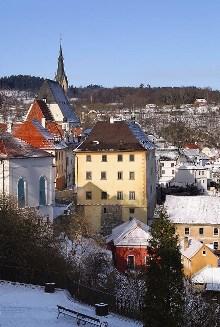 Český Krumlov - Museum as seen from the east, photo by: Archiv Vydavatelství MCU s.r.o.