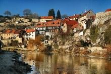 Český Krumlov - Starobylý původ mají i domy na Plešivci, foto: Archiv Vydavatelství MCU s.r.o.