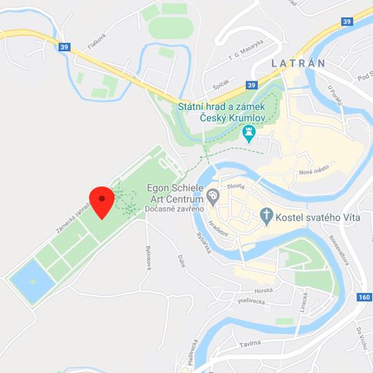 Otáčivé hlediště, zdroj: Mapy Google