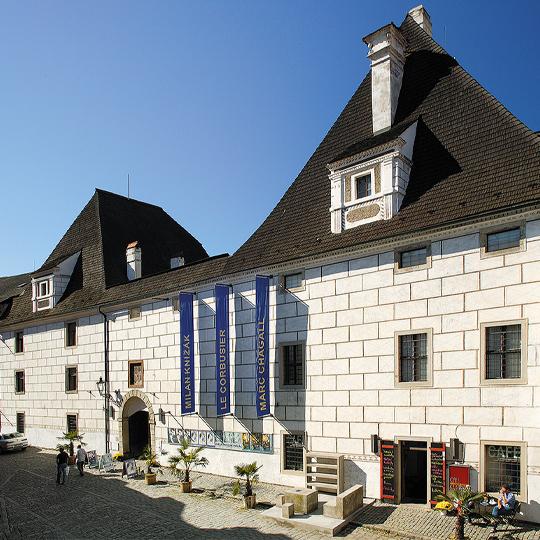 Egon Schiele Art Centrum, Široká ul., zdroj: Libor Sváček archiv Vydavatelství MCU