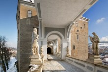 Schloss Český Krumlov - Die Dekoration der Plášťový (Mantel-)Brücke, Foto: Archiv Vydavatelství MCU s.r.o.